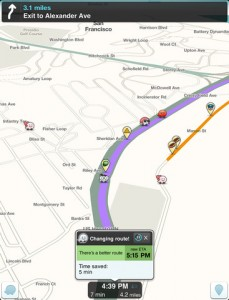 waze for ipad