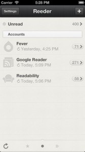 M Reeder for iphone