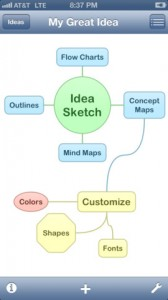 M idea sketch for iphone